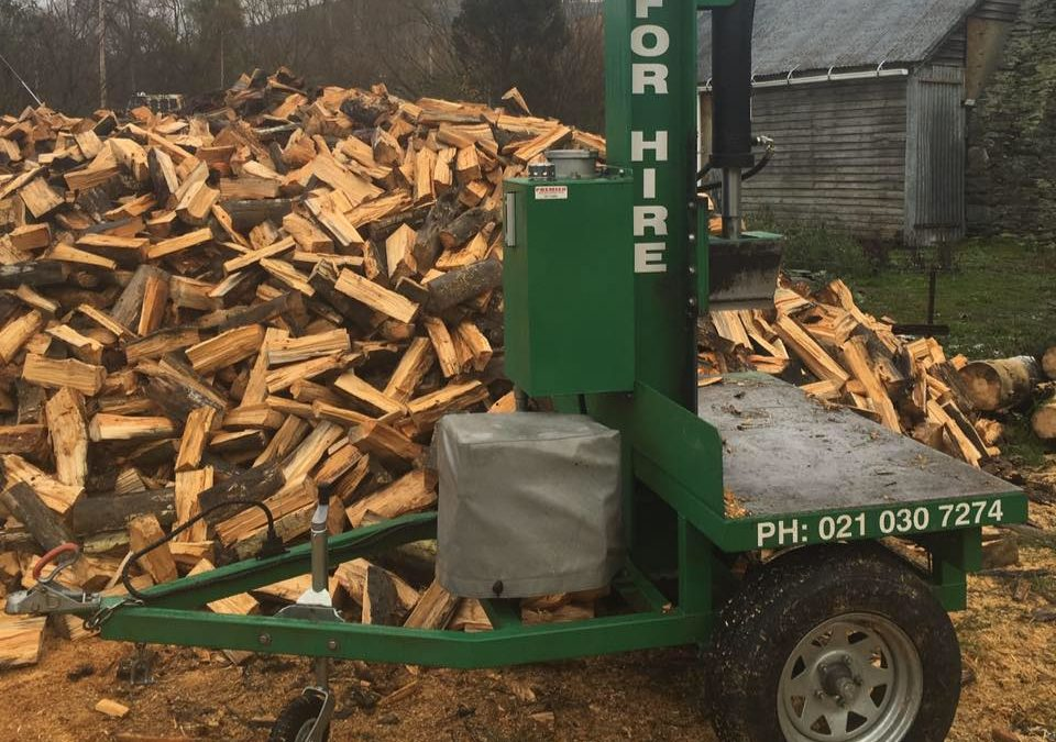 Shotover Log Splitter Hire Queenstown