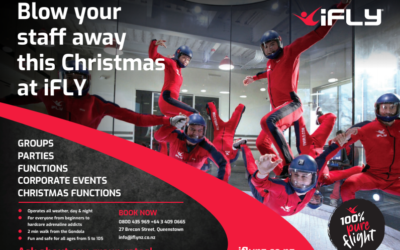 iFLY makes staff Christmas parties a breeze