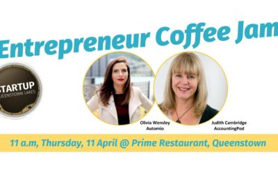 APR 11 Entrepreneur Coffee Jam (Queenstown)