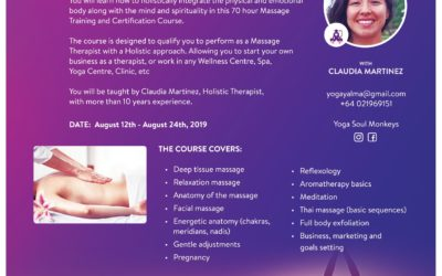 Become a Holistic Massage Therapist