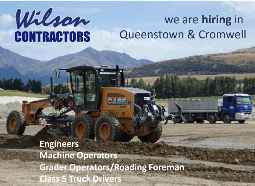 Wilson Contractors Positions
